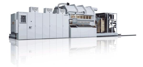Оборудование Bühler AG для вакуумной металлизации полимерной пленки