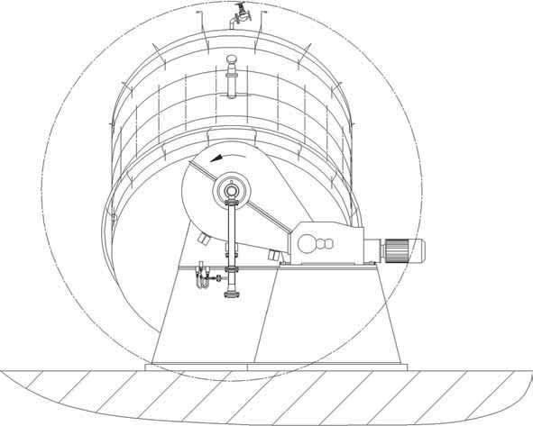 Важные размеры реактора