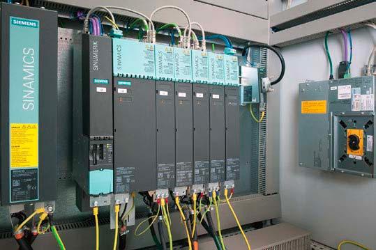 Системы контроля и регулирования приводов от Siemens