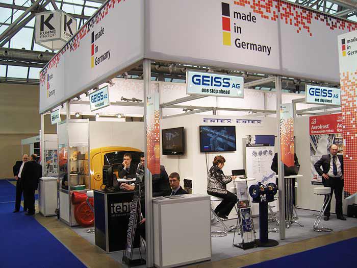 Стенд GEISS AG (Германия)