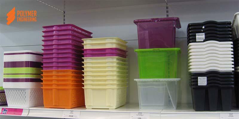 Полимерные ящики и контейнеры