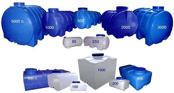 Емкости из полимеров
