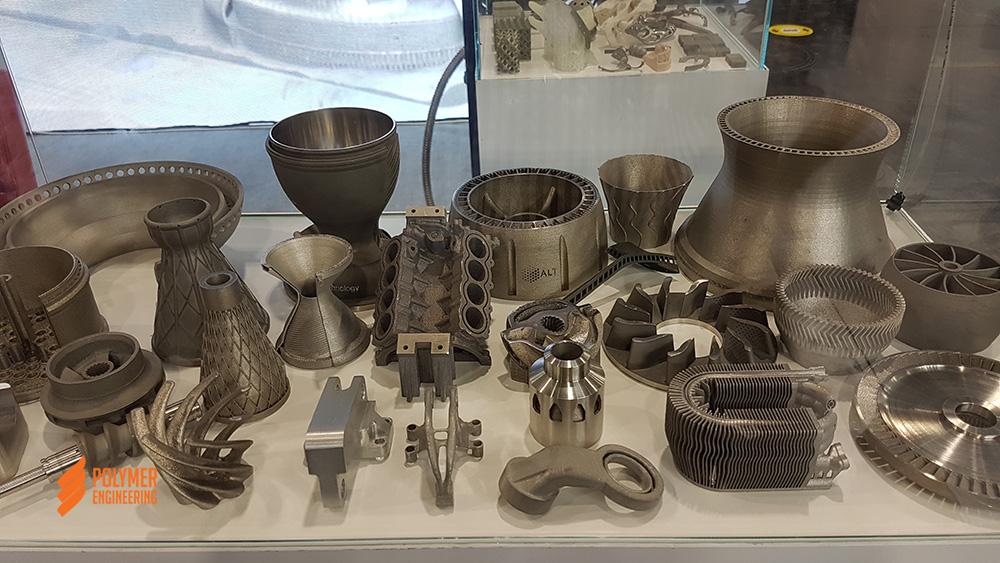 Изделия изготовленные 3D печатью по металлу