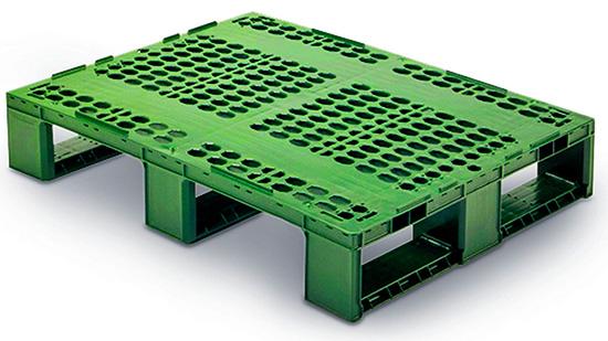 Пластиковый поддон для средней нагрузки 800х600х147 мм