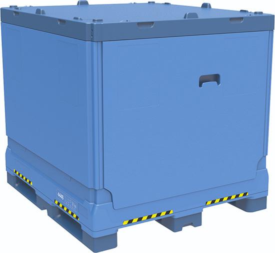 Контейнер средней грузоподъемности для массовых грузов (IBC) Combo Fructus 1219x1118x1125 мм