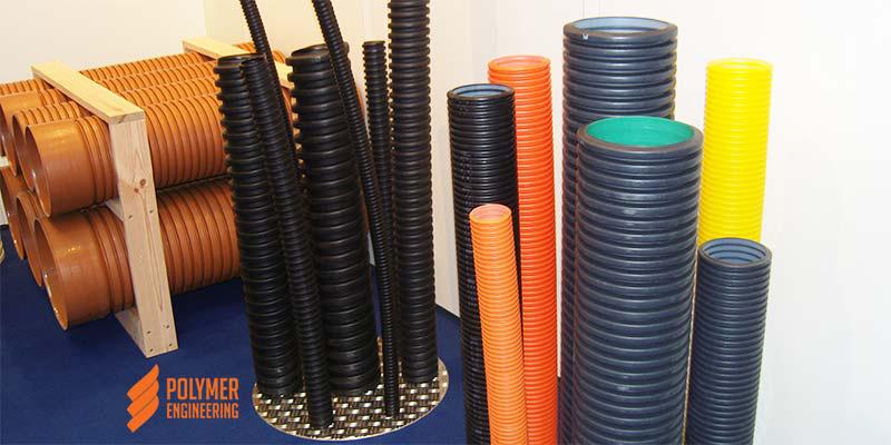 Гофрированные полимерные трубы