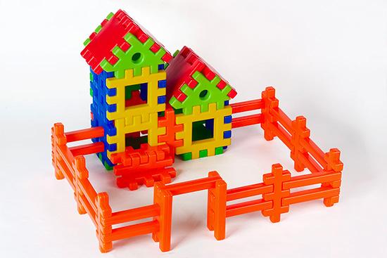 Конструктор «Пазлы» в наборе «Дом, который построил Джек»