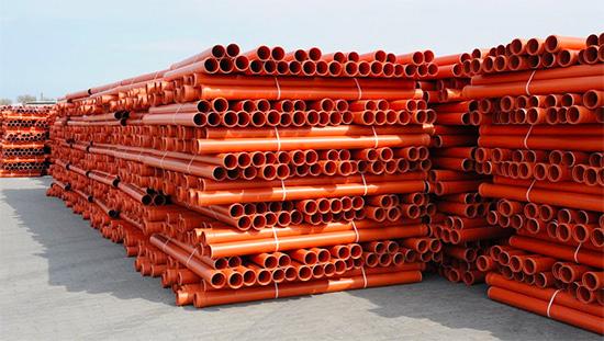 Трубы для наружной канализации из НПВХ