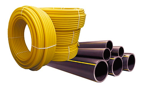 Трубы PE HD 80 для газотранспортных сетей