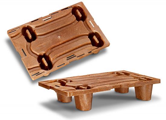 Поддоны из древесно-полимерных композитов