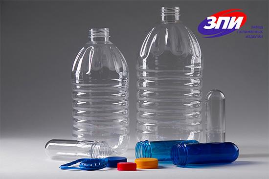 Бутылки ПЭТ круглые