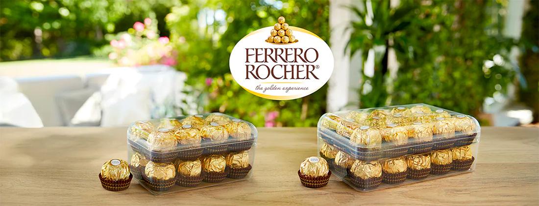 Новые экологически чистые коробки Ferrero Rocher