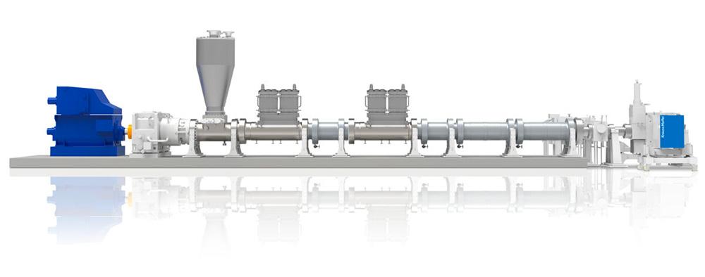 Технология одношнекового экструдера для эффективного удаления растворителей из расплава